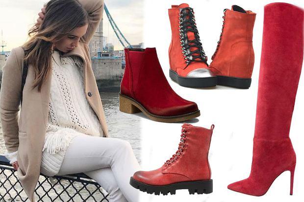 fot. Instagram / wendzikowska/ czerowne buty