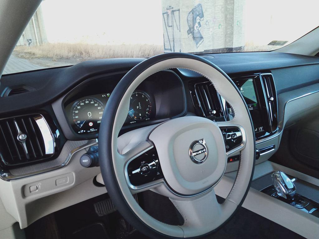 Volvo S60 B4 wnętrze