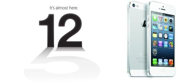 Zaproszenie na konferencję z 2012 roku i iPhone 5