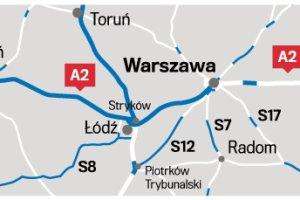 Autostrada A2 może na długie lata zatrzymać się na Mazowszu