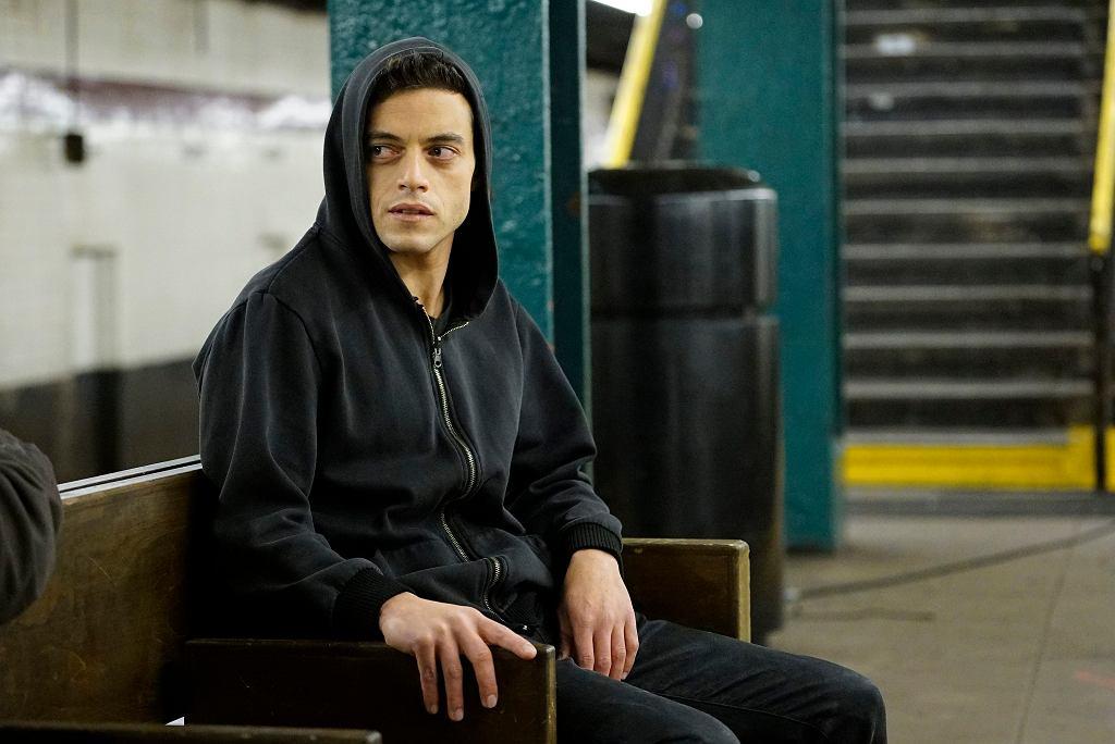 Rami Malek w serialu 'Mr. Robot'