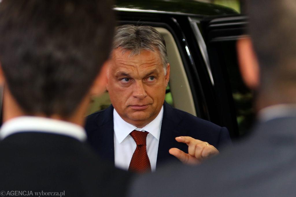 Premier Wegier Viktor Orban