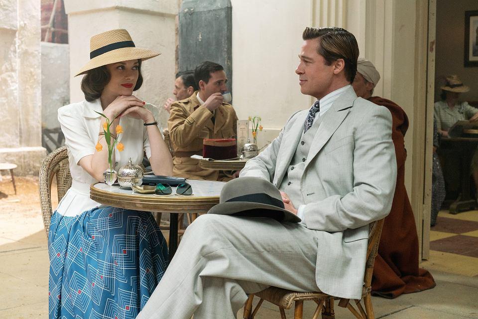 Marion Cotillard i Brad Pitt