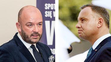 Jacek Sutryk reaguje na komentarz Andrzeja Dudy odnośnie cen wywozu śmieci .