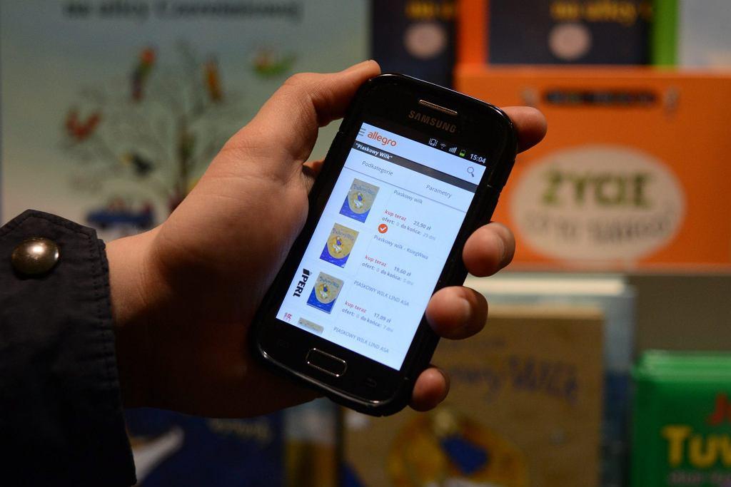 Zakupy ze smartfonem