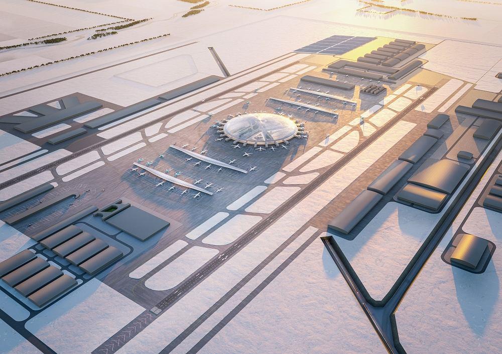 Wizja CPK w ujęciu architektów Chapman Taylor