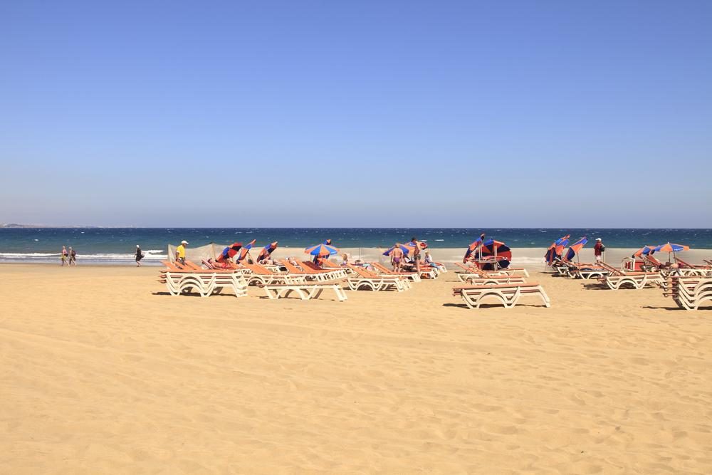 Playa del Ingles - Gran Canaria, Wyspy Kanaryjskie, Hiszpania