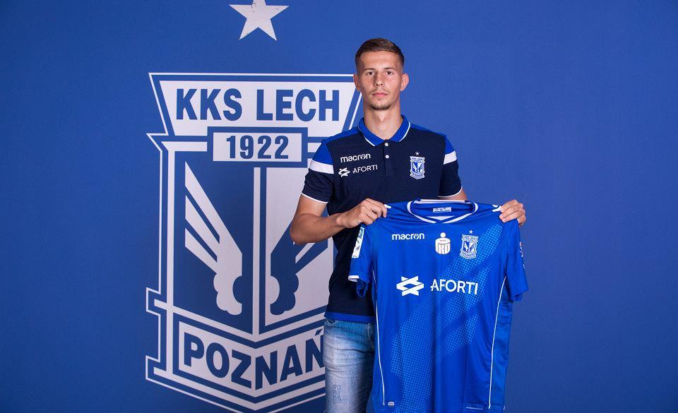 Lubomi Satka piłkarzem Lecha Poznań
