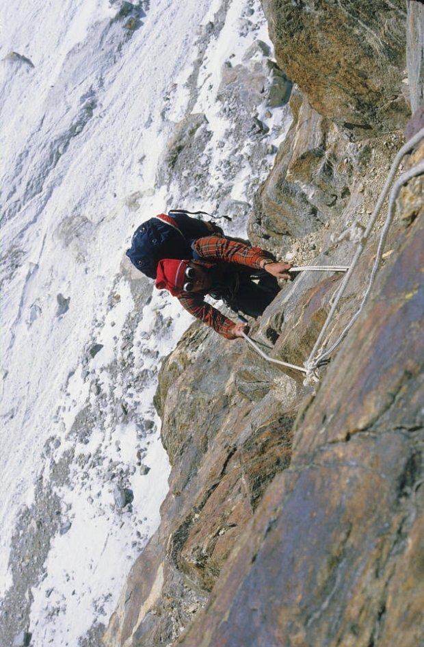 Maciej Pawlikowski na Turni Messnera (fot. archiwum Ryszarda Gajewskiego)