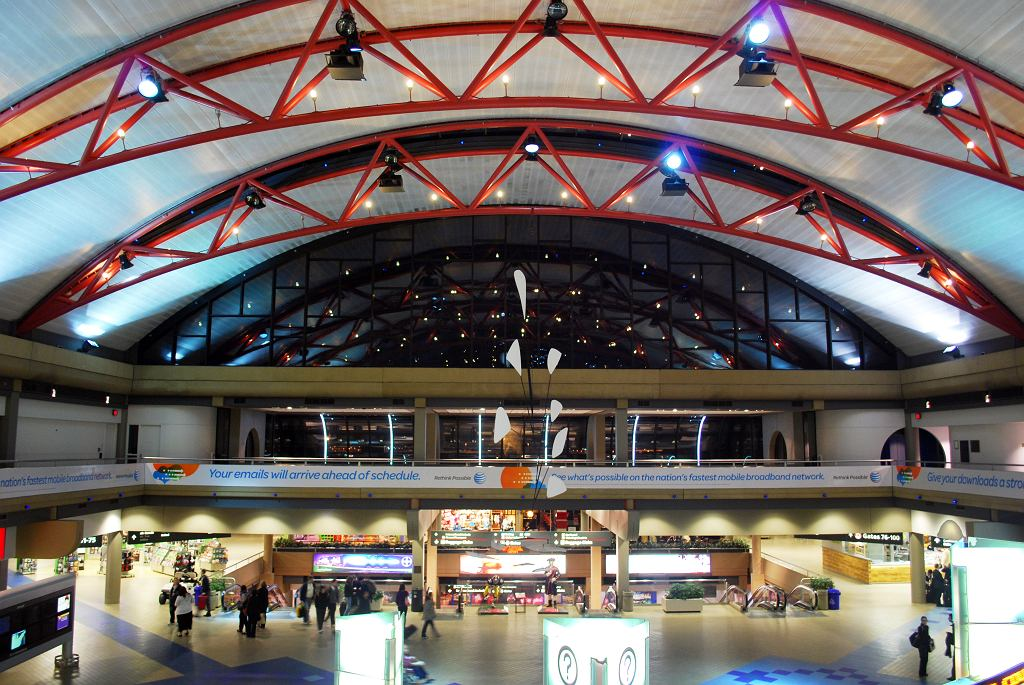 Terminal lotniska w Pittsburghu