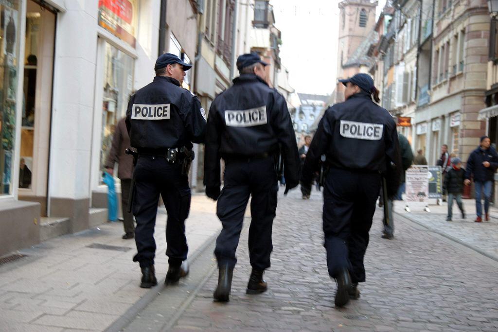 Francuska policja [zdjęcie ilustracyjne]