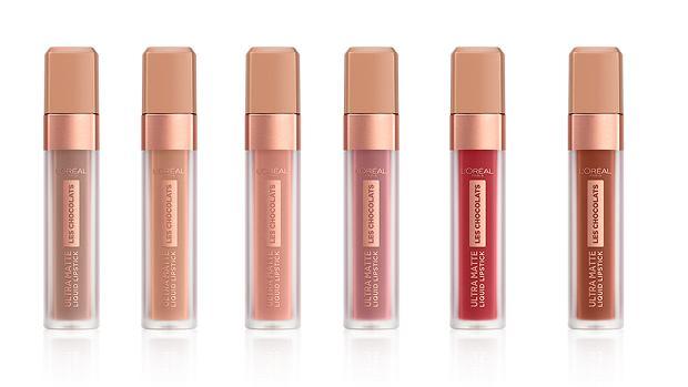 Matowe szminki w płynie z serii Les Chocolats