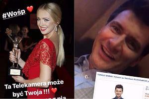 Barbara Kurdej-Szatan i Tomasz Kammel wspierają WOŚP