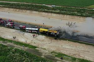 Wypadek na DK1 w Bogusławicach