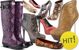 wężowe buty, trendy, skóra węża, skóra krokodyla, obuwie damskie, gadzi deseń