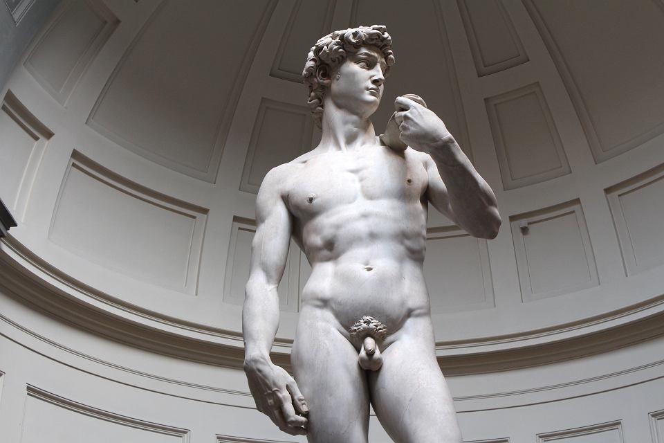 Dawid, rzeźba Michała Anioła