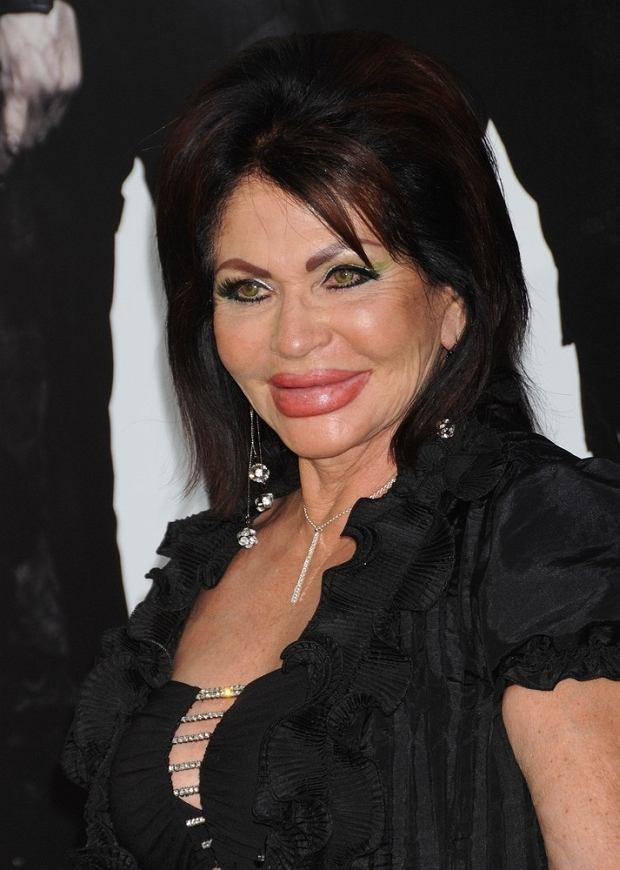 Lionsgate Films Premiere for 'The Expendables 2' at Grauman's Chinese Theatre in Hollywood, California.  Pictured: Jackie Stallone