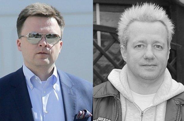 Szymon Hołownia i Robert Leszczyński