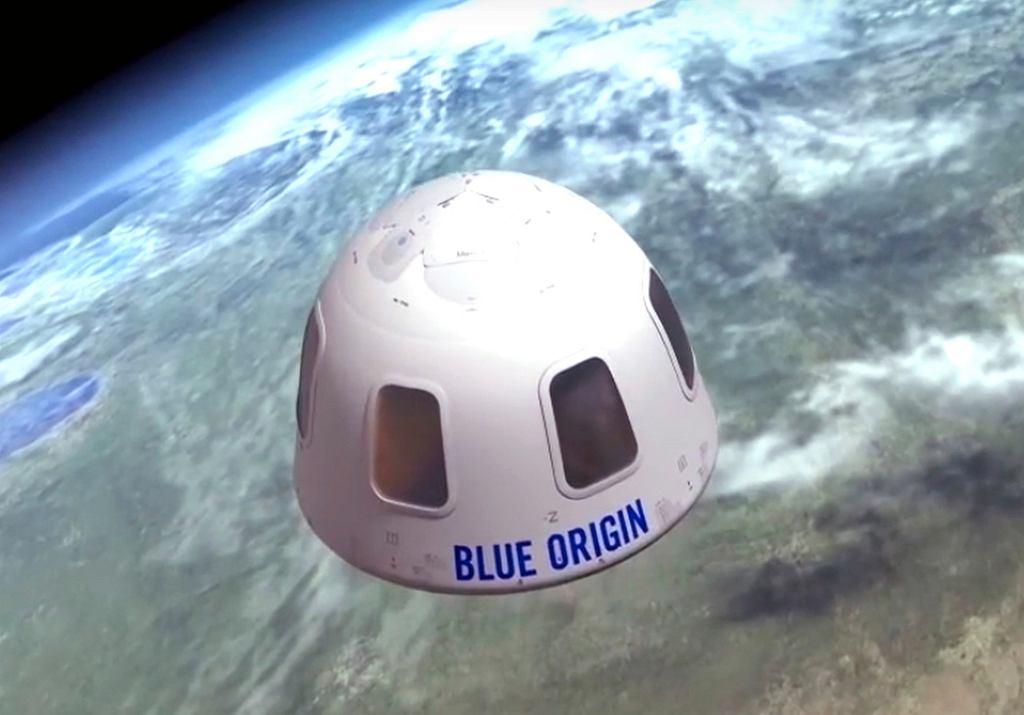 Bilet na lot w kosmos sprzedany. Nieznany zwycięzca poleci z Jeffem Bezosem