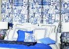 Trend: biało-niebieskie wzory
