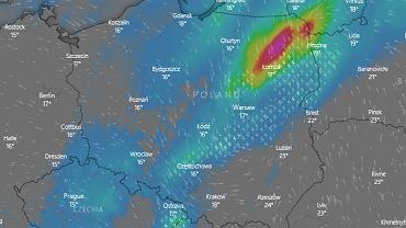 Pogoda. IMGW ostrzega przed intensywnymi opadami deszczu i burzami