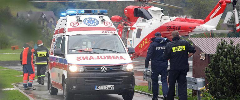 Burza w Tatrach. Czeski turysta spadł w przepaść kilkaset metrów