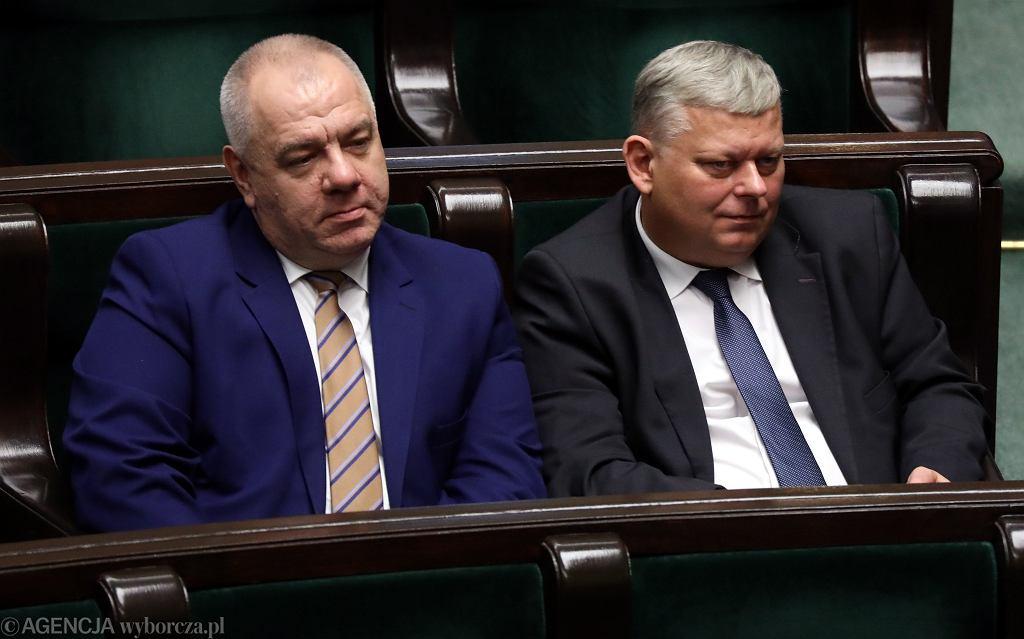 Jacek Sasin i Marek Suski
