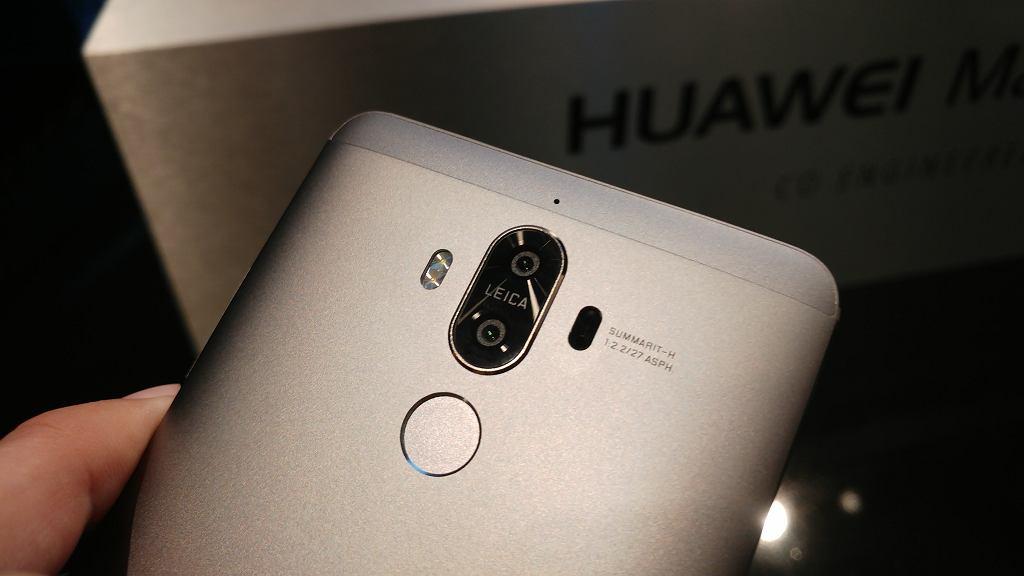 Podwójny obiektyw Huawei Mate 9