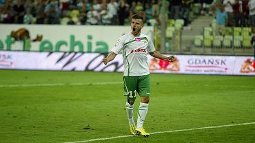 Lechia  - Podbeskidzie 1:0. Maciej Makuszewski