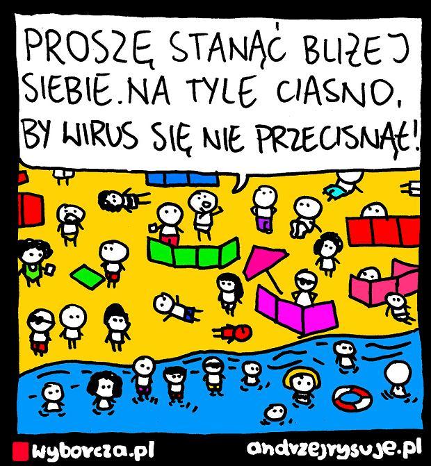 Andrzej Rysuje | PLAŻA - Andrzej Rysuje | 4 sierpnia 2020 -