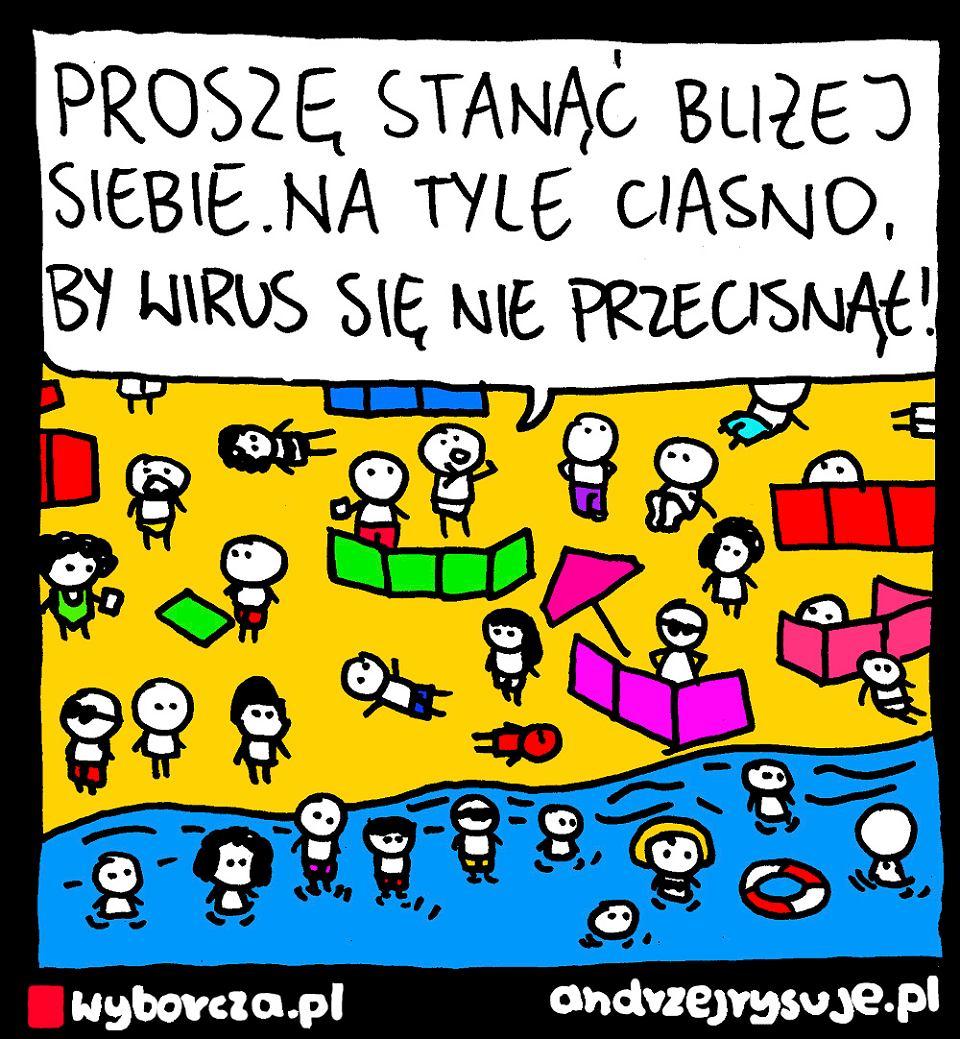 Andrzej Rysuje | PLAŻA - Andrzej Rysuje | 4 sierpnia 2020 - null