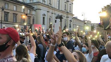 Protest 'Wolna Białoruś'