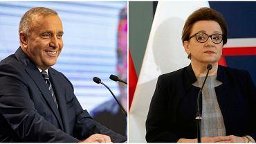 Wybory parlamentarne 2019. Grzegorz Schetyna i Anna Zalewska