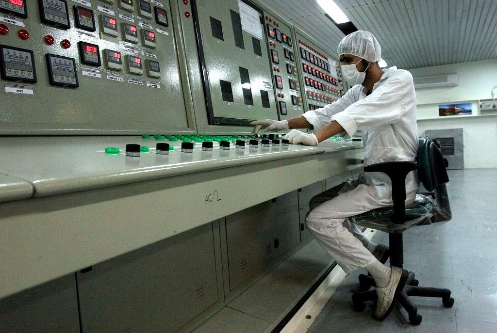 W elektrowni atomowej - zdjęcie ilustracyjne/Fot. Vahid Salemi / AP Photo