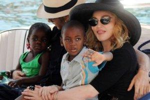 Madonna, Jesus Luz, Mercy i David
