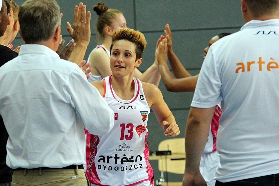 Tauron Basket Liga Kobiet: Artego Bydgoszcz - KSSSE AZS PWSZ Gorzów 72:55 (21:19, 14:14, 19:6, 18:16). Julie McBride