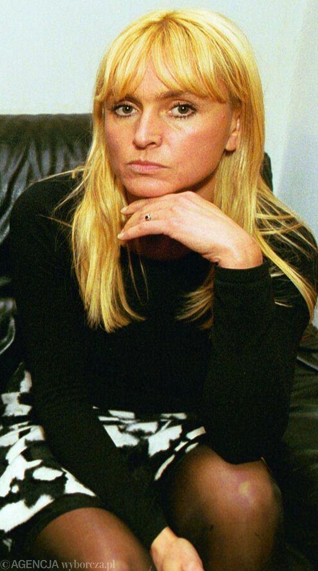 Monika Olejnik w 1999.
