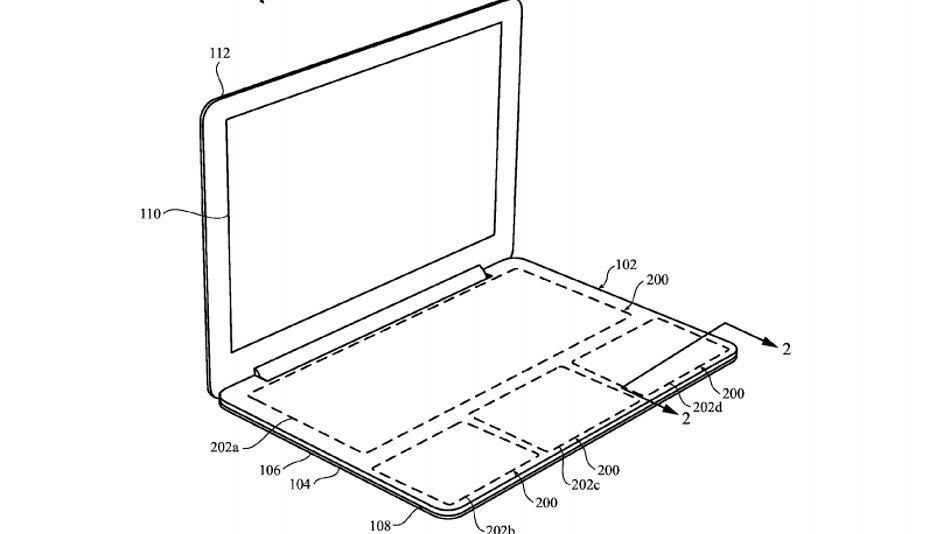 W zeszłym roku Apple opatentował inny model MacBooka bez klawiatury
