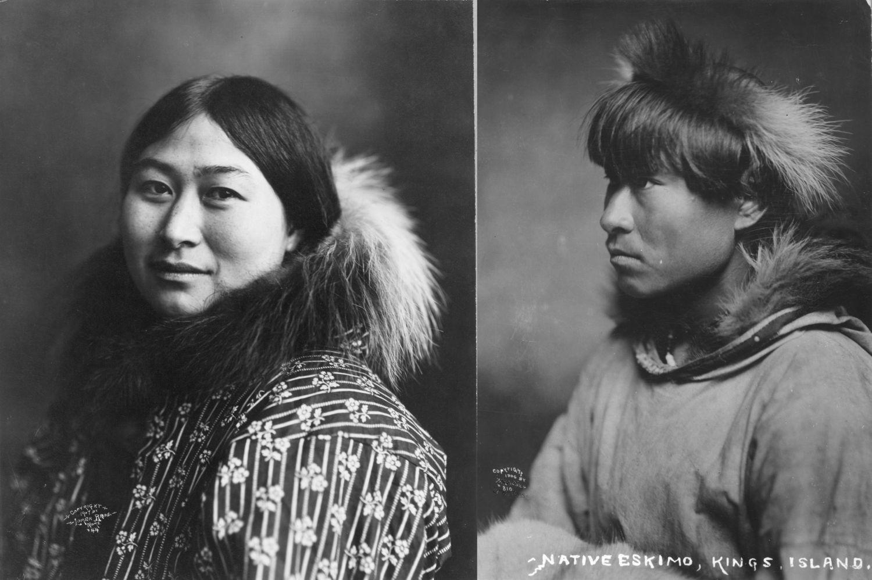 Inuici w 1907 roku (fot. Lomen Bros / Biblioteka Kongresu Stanów Zjednoczonych / domena publiczna)