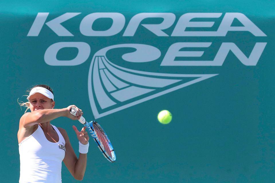 Magda Linette jest już w ćwierćfinale w Seulu. W środę w II rundzie pokonała Anastazję Potapową