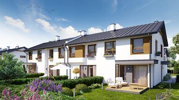 Wizualizacja inwestycji Domów przy Willowej