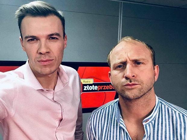 Kamil Baleja i Borys Szyc