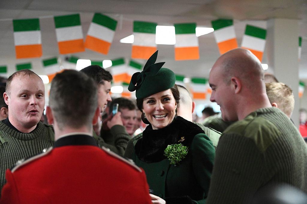 Dzień św. Patryka obchodzi też księżna Kate