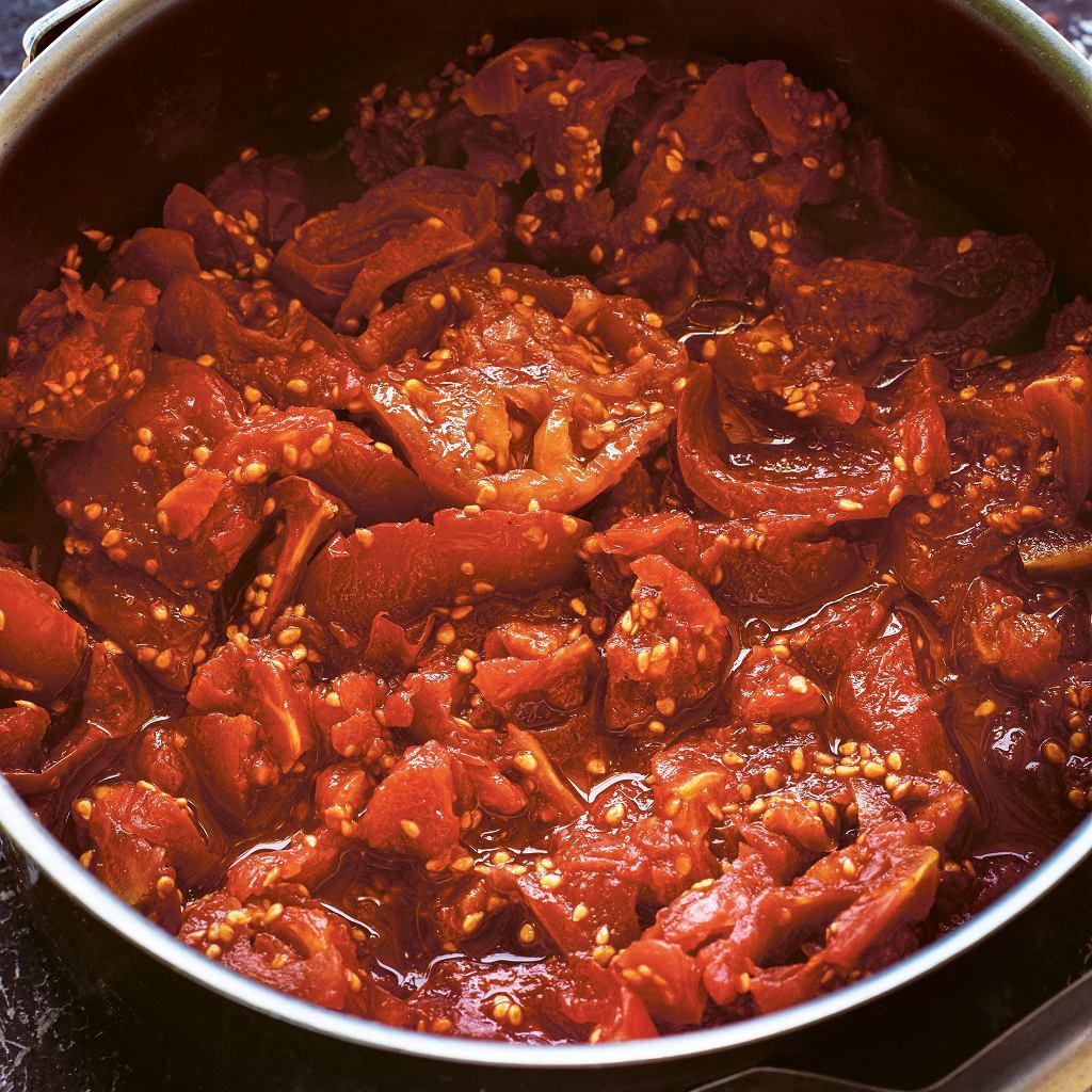 Kiszony przecier pomidorowy