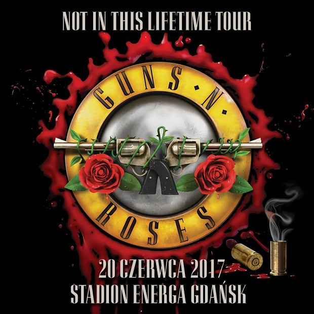 Koncert Guns N' Roses w Polsce!