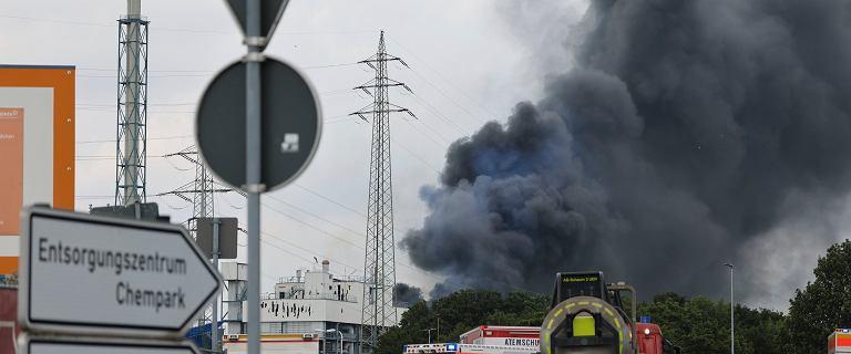Wybuch w Leverkusen. IMGW: Smuga zanieczyszczeń dotrze w środę do Polski
