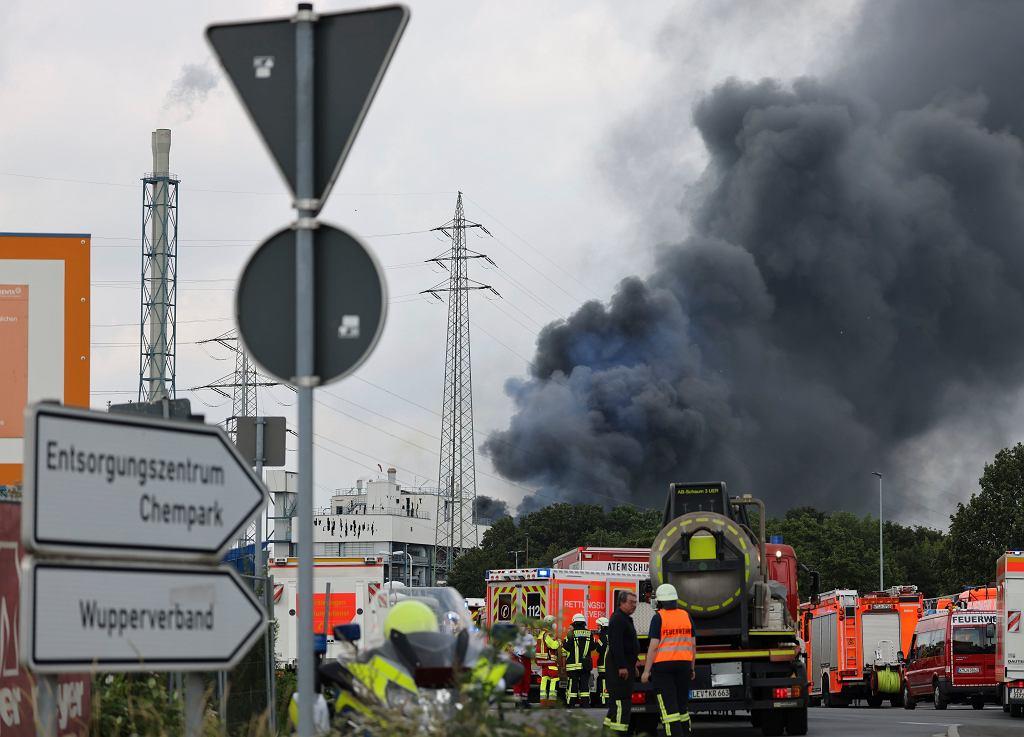 Niemcy. Eksplozja w zakładach chemicznych