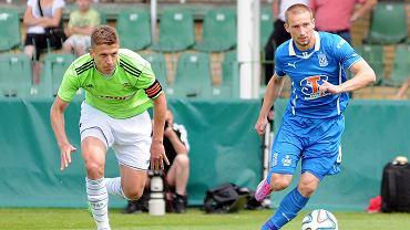 Lech Poznań - Lechia Gdańsk 3:0 w sparingu w Grodzisku Wlkp. Szymon Pawłowski