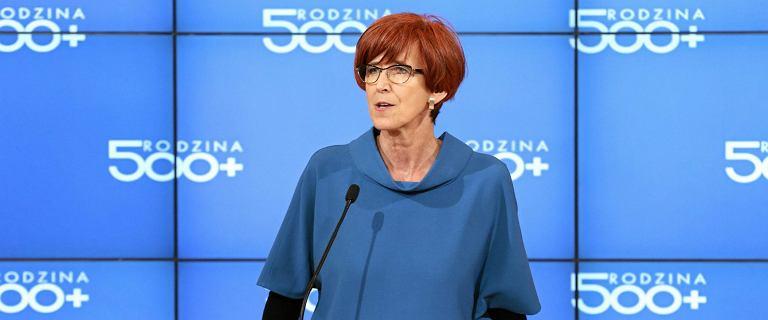 Minister Elżbieta Rafalska nie wyklucza zmian w programie 500 plus