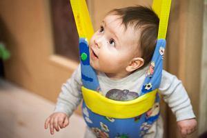 Skoczek dla dzieci - od jakiego wieku, czy skoczek jest zdrowy